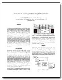 Neural Network Technology for Strata Str... by Utt, Walter K.