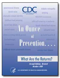 An Ounce of Prevention. What Are the Ret... by Koplan, Jeffrey P.