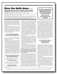Give the Birth Dose : Hepatitis B Vaccin... by Wexler, Deborah L., M. D.