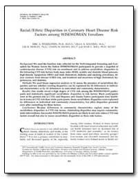 Racial/Ethnic Disparities in Coronary He... by Finkelstein, Eric A., Ph. D.