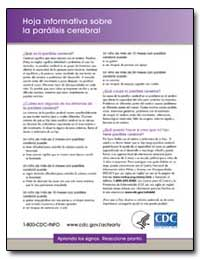 La Paralisis Cerebral Hoja Informativa S... by Department of Health and Human Services