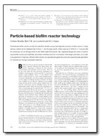 Particle-Based Biofilm Reactor Technolog... by Nicolella, Cristiano