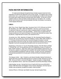 Para Mayor Informacion by Department of Health and Human Services