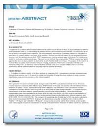 Evaluation of Alternative Methods for Ch... by Bekkedal, Marni Y. V.
