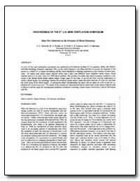 Proceedings of the 8 U.S. Mine Ventilati... by Edwards, John C.