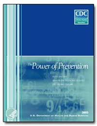 The Power of Prevention by Department of Health and Human Services