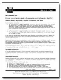 Datos Importantes Sobre la Vacuna Contra... by Department of Health and Human Services