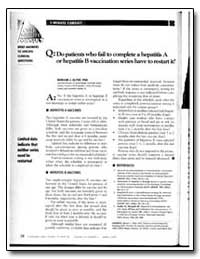 One Minute Consult : Brief Answers to Sp... by Alter, Miriam J., Ph. D.