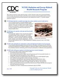 Nceh's Radiation and Energy-Related Heal... by Department of Health and Human Services