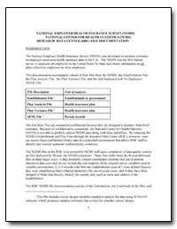 National Employer Health Insurance Surve... by Department of Health and Human Services