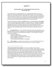 Appendix C Recommendations for Counting ... by Department of Health and Human Services