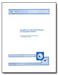 Calculation of Vertical Stress Exerted b... by Shea-Albin, Valois R.
