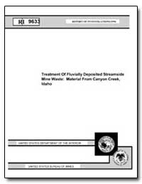 Treatment of Fluvially Deposited Streams... by Paulson, Anthony J.