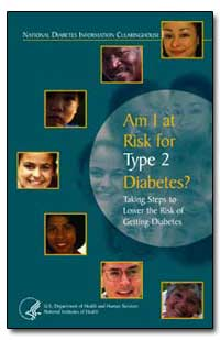 Am I at Risk for Type 2 Diabetes : Takin... by Department of Health and Human Services