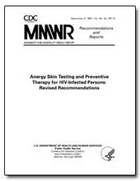 Anergy Skin Testing and Preventive Thera... by Department of Health and Human Services