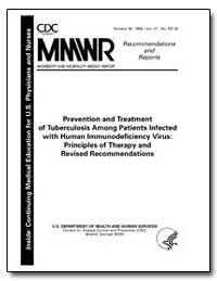 Prevention and Treatment of Tuberculosis... by Department of Health and Human Services