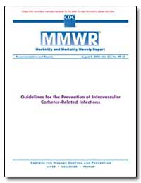 Guidelines for the Prevention of Intrava... by Department of Health and Human Services