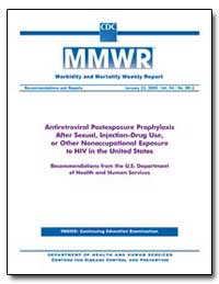 Antiretroviral Postexposure Prophylaxis ... by Department of Health and Human Services