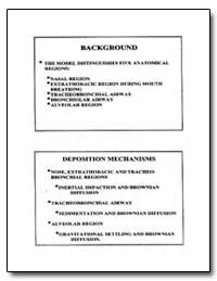 Background : Deposition Mechanisms by Department of Health and Human Services