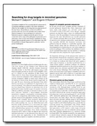 Searching for Drug Targets in Microbial ... by Galperin, Michael Y.