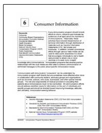 Consumer Information : Consumer Communit... by Department of Health and Human Services