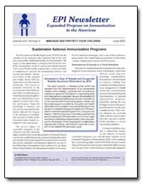 Epi News Letter Expanded Program on Immu... by Department of Health and Human Services