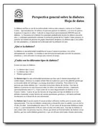 Perspectiva General Sobre la Diabetes Ho... by Department of Health and Human Services