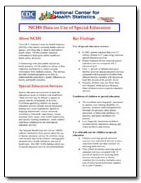 Nchs Data on Use of Special Education by Department of Health and Human Services