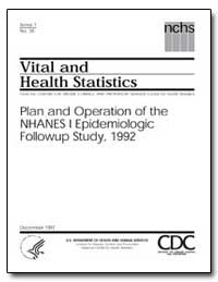 Vital and Health Statistics by Anderson, Jack Robert