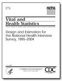 Design and Estimation for the National H... by Curtin, Lester R., Ph. D.