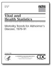 Vital and Health Statistics by U. S. Department of Health and Human Services