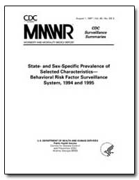 State- and Sex-Specific Prevalence of Se... by Powell-Griner, Eve, Ph. D.