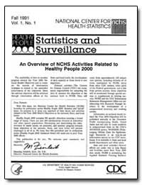Statistics and Surveillance by Department of Health and Human Services
