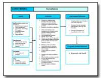 Surveillance Logic Model by Department of Health and Human Services