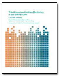 Third Report on Nutrition Monitoring in ... by Department of Health and Human Services