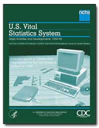U.S. Vital Statistics System by Department of Health and Human Services