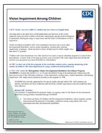 Vision Impairment Among Children by Department of Health and Human Services