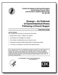 Oswego – an Outbreak of Gastrointestinal... by Department of Health and Human Services