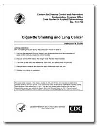 Cigarette Smoking and Lung Cancer by Department of Health and Human Services