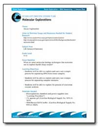 Ocean Exploration Lesson Plan Molecular ... by