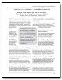 Emerging Challenges for U. S. Marine Bio... by Knecht, Robert W.