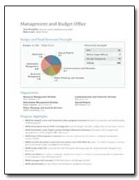 Management and Budget Office by Leach, Mary