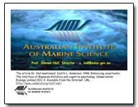 Australian Institute of Marine Science by Hall, Steven