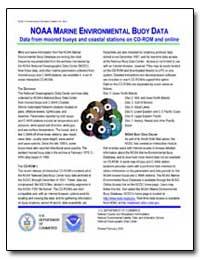 Noaa Marine Environmental Buoy Data Data... by