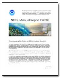 Nodc Annual Report Fy 2000 by