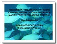 Fish Habitat Utilization Patterns and Ev... by Friedländer, Alan