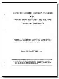 Geometric Geodetic Accuracy Standards an... by Hull, Wesley V.