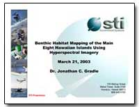 Benthic Habitat Mapping of the Main Eigh... by Gradie, Jonathan C., Dr.