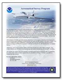 Aeronautical Survey Program by Hagan, Jeff