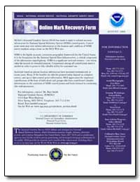 Online Mark Recovery Form by Smith, Burt